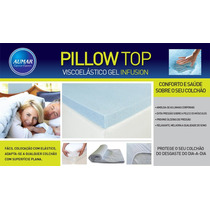 Pillow Top Viscoelástico Nasa Gel King