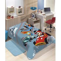 Cobertor Jolitex Infantil Speed Mickey 1,50x2,00 Solteiro