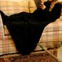 Cobertor Com Mangas Em Soft Adulto - Preto