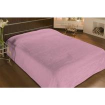 Cobertor De Microfibra Queen Antialergico Liso Rosa - Camesa