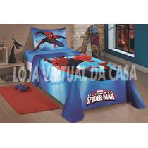 Jogo De Cama Do Homem Aranha - Spider Man Ultimate - 3 Peças