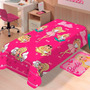 Manta Soft Solteiro Barbie Fashion - Jolitex
