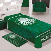 Cobertor Jolitex Solteiro Raschel Toque Macio Time Palmeiras