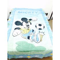 Colcha Aveludada Jolitex Disney Mickey Solteiro (promoção)