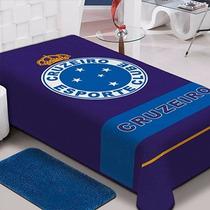Cobertor Raschel Jolitex Time Cruzeiro Solteiro 1,50x2,20