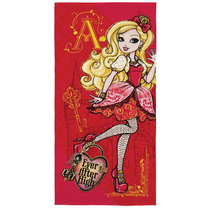 Toalha De Banho Felpuda Ever After High Apple White - Lepper