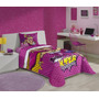 Edredom Infantil Barbie Super Princesa Estampado Lepper
