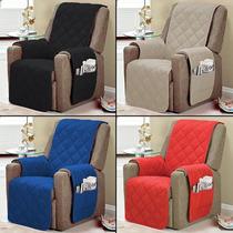 Protetor Para Sofa Poltrona 1 Pçs Varias Core Toda Com Vieis