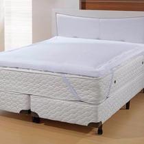 Manta Pillow Top Nasa Lâmina Visco Elástico Casal 1,38x1,88