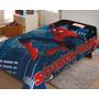Cobertor Manta De Microfibra Solteiro Homem Aranha Spiderman