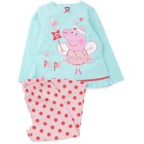 Pijama Infantil Peppa Pig E George - Pronta Entrega