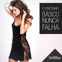 Camisola Gueixa Demillus Sexy Com Renda Fashion + Brinde