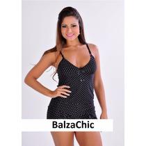 Baby Doll Feminino Balzachic P Ao Xg