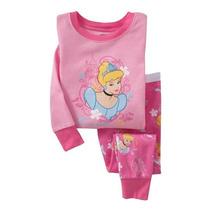 Pijama Cinderela Infantil Pronta Entrega! Confirme Estoque!