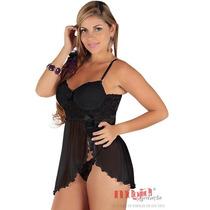 Camisolas Sexys Olivia Preta Nupcial | Camisola Sensual