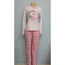 Pijama Feminino De Inverno