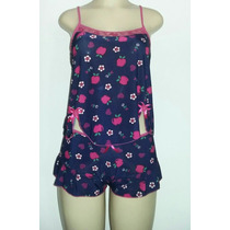 Kit C/ 12 Short Doll Em Liganete E Renda