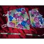 Pijama Adulto Verão Estampa Floral Havaiana Tecido Liganet