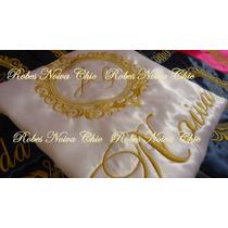 Robe Personalizado Dia Da Noiva Roupão Cetim