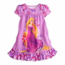 Vestido Camisola Rapunzel Enrolados Disney Store Tam 7/8