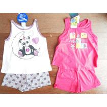 Lote Com 2 Pijamas Infantil Menina Malwee Kyly