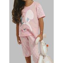 Pijama Infantil Chiquititas Longo Moderno Dia Da Criança