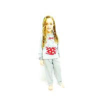 Pijama Infantil Feminino De Inverno Em Moletinho
