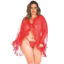 Robe Hobby Tentação Plus Size Pimenta Sexy - Frete Barato !