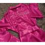 Robe Personalizado Noiva Manga Comprida