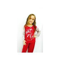 Pijama Feminino Infantil Manga Listrada