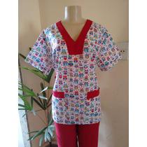 Pijama Cirúrgico Estampado