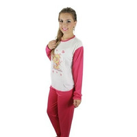 Kit Com 02 Pijamas Cumprido Malha Feminino
