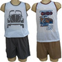 Kit C/3 Pijama Masculino Camiseta Lingerie Homem Atacado 045