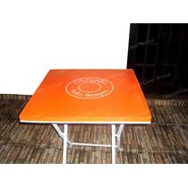 Capa Plástica Para Mesa De Bares, Lanchonetes 60x60cm