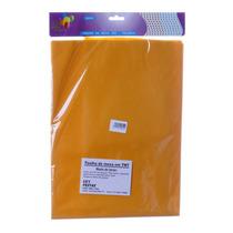 Toalha Descartável Para Mesa De Tnt Amarela 70 X 70cm Com 4