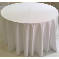 Toalha De Mesa Redonda Buffet Em Tecido Oxford 3,0 Diâmetro