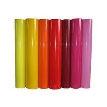 Papel Adesivo Contact Strech Colorido Liso 45cm X 2mts
