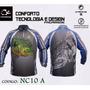 Camisa Faca Na Rede Proteção Uv 15 Vários Tamanhos E Modelos