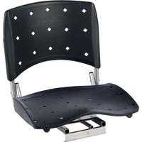 Cadeira P/ Barco Giratória E Dobrável - C/ Assento Grande