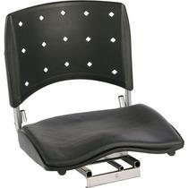 Cadeira P/ Barco Giratória E Dobrável C/ Assento Almofadado