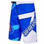 Bermuda Asw Extreme Azul Branco Dh Freeride Motocross Tam P