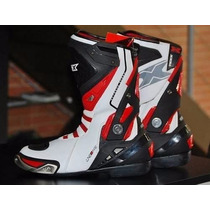 Bota Motociclista Texx Line One G-force Cano Longo Racing