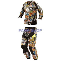 Conjunto Calça E Camisa Pro Tork Modelo Insane Sticker Bomb