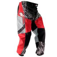 Calça Motocross Vermelha Pro Tork Insane Infantil Criança