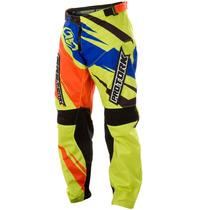 Calça Insane 4 Amarelo Motocross Pro Tork 2015 Nova + Frete