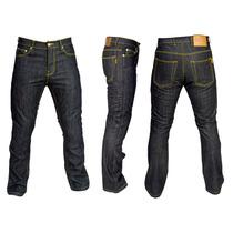 Calça Jeans Evolution Kevlar Texx Fender Para Motociclista