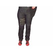 Calça Jeans Feminina Hlx Penélope Black