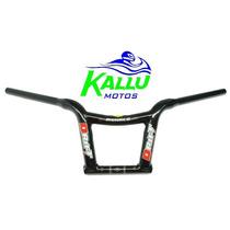 Guidão Drift Mônaco Alto Preto Fosco- Kallu Motos