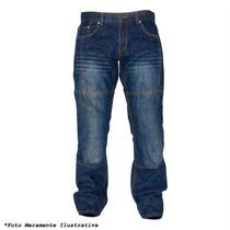 Calça Jeans Motociclista Impermeável Stopwater Texx Tam: 52