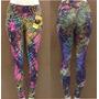 Calça Feminina Legging Proteção Solar Uv 50+ Estampada